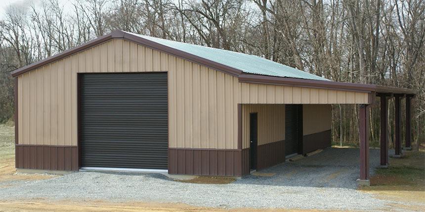 30x60 Garage Building Pricing | Steel Garage Building | Renegade Ste