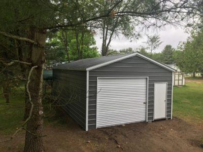 Storage Sheds | Metal Sheds For Sale | Midwest Steel Carpor