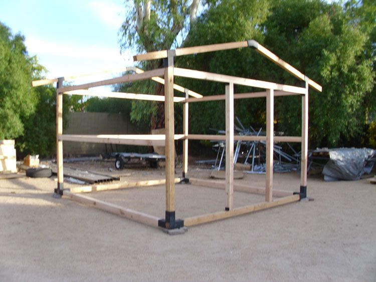 All Steel Shed Frames--- Sheds and Buildings Phoenix, Arizona .