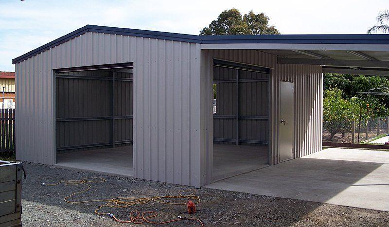 Suitability of steel sheds in 2020 | Stahlschuppen, Schuppen ide