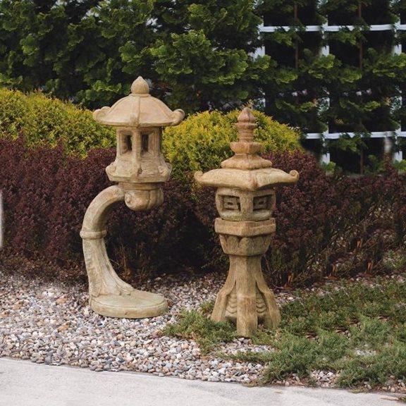 Japanese Lantern Cast Stone Garden Orname