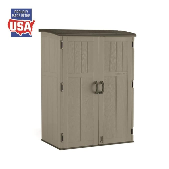 CRAFTSMAN (Common: 5-ft x 2-ft; Actual Interior Dimensions: 4.1-ft .