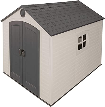 Amazon.com : Lifetime 6405 Outdoor Storage Shed with Window .