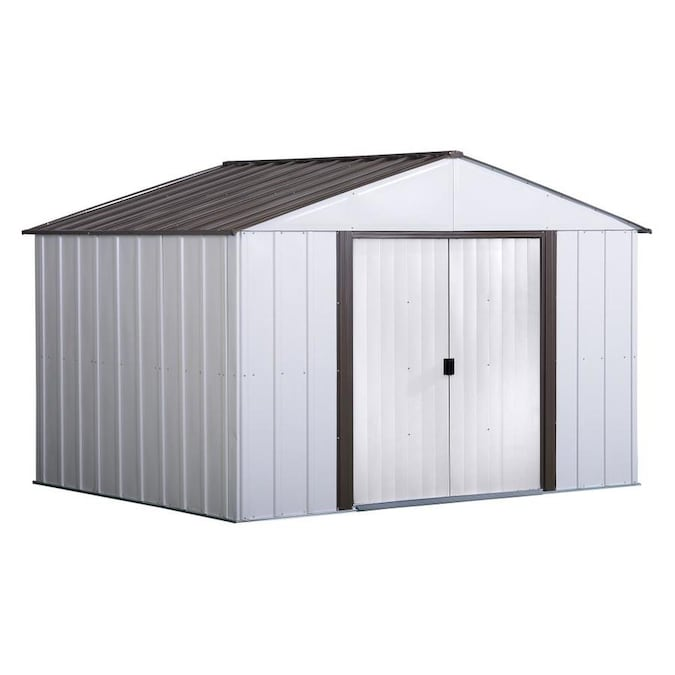 Arrow (Common: 10-ft x 8-ft; Interior Dimensions: 9.85-ft x 7.5-ft .