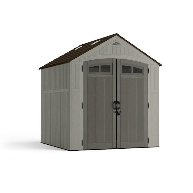 CRAFTSMAN (Common: 7-ft x 7-ft; Actual Interior Dimensions: 6.8-ft .