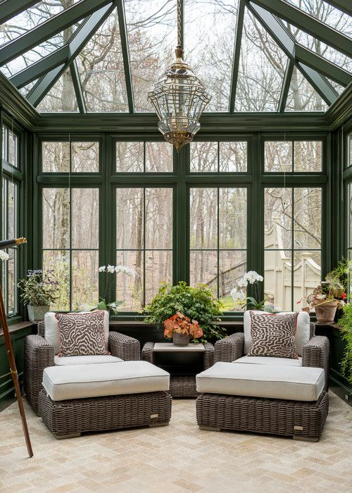 9 Beautiful Sun Rooms You'll Love - Town & Country Living | Porch .