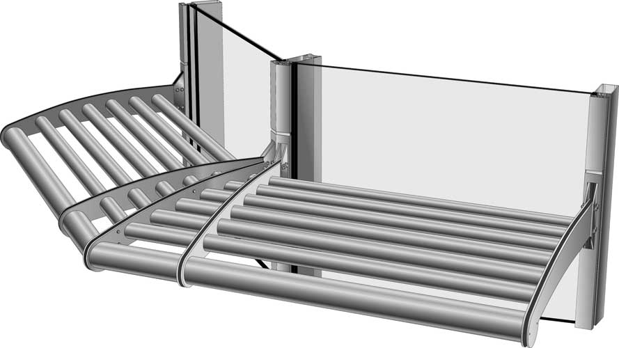 Versoleil™ Outrigger Sun Shade System for Curtain Walls, Building .
