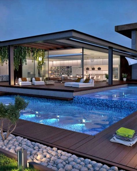 √ 38+ Modern Swimming Pool Design Ideas For Your Home | Dream .