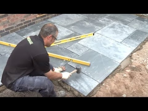 How To Lay A Patio - Expert Guide To Laying Patio Slabs | Garden .