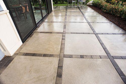 Rosetta Miros Patio Slab | Modern patio, Patio pavers design .