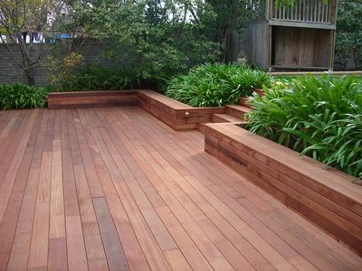 Timber decking has become a focal point for the family home. #deck .
