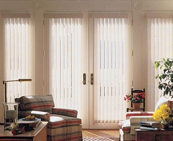Beautiful French Door Blinds | Living room blinds, Blinds for .