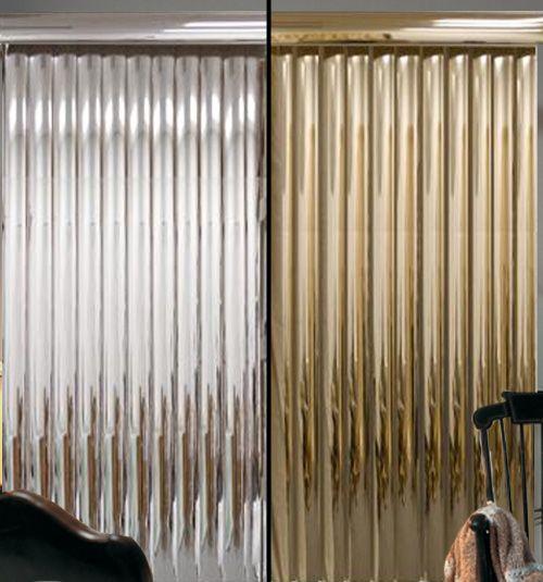 Blindsgalore®️️ Vinyl Vertical Blind: Mirrored   Blinds design .