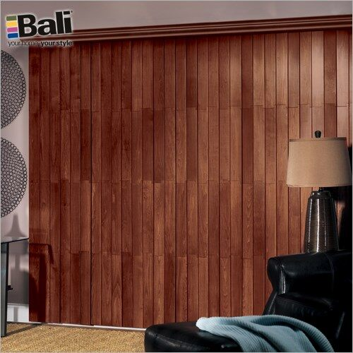 Bali Northern Heights Wood Vertical Blind | Homedepot.c