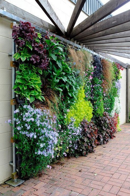 20+ Modern Vertical Fence Gardening Ideas To Beautify Your .