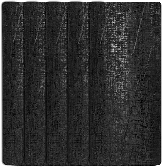 Amazon.com: DALIX Silky Black Vertical Blind Texture Slats Window .