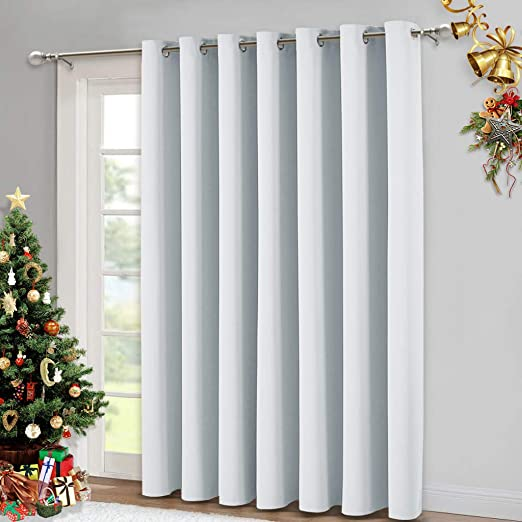Amazon.com: NICETOWN Vertical Blinds for Sling Door - Silver .