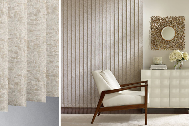 Vertical Blinds, Panel Track Window Treatments Denver
