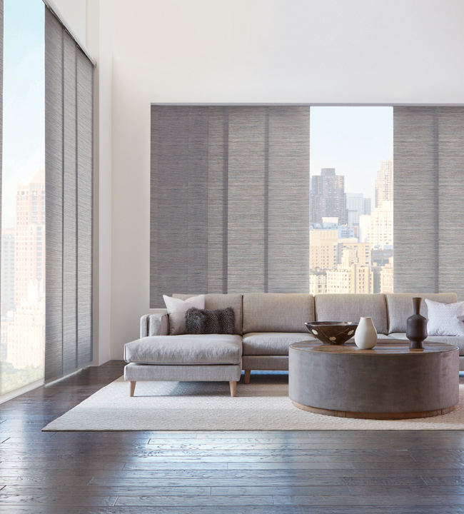 Skyline Gliding Window Panels | Vertical Blinds for Slide