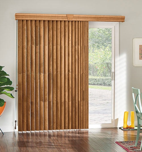 Bali® Northern Heights Wood Vertical Blinds | Blindsgalo