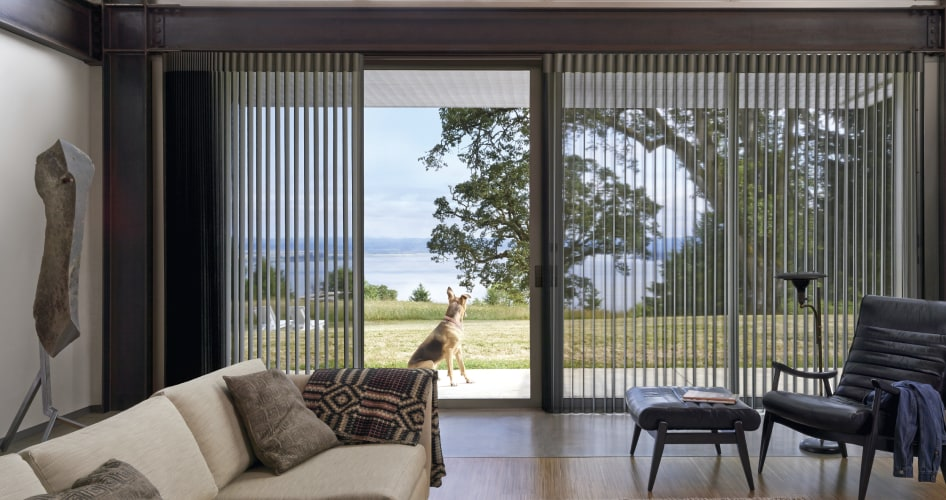 Window Treatments for Patio & Sliding Glass Doors | Hunter Dougl