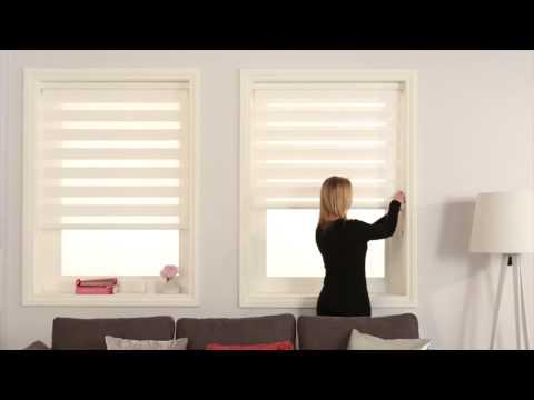 Louvolite Vision Blinds operation - YouTu
