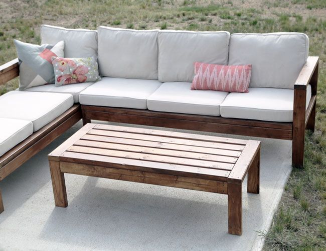 Ana White | 2x4 Outdoor Coffee Table - DIY Projects | Diy .