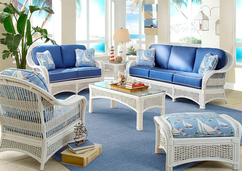 6 Piece Fiji Indoor Rattan Furniture S
