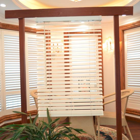 Buy Best White Color Wand Control Foam Wood Venetian Blinds .