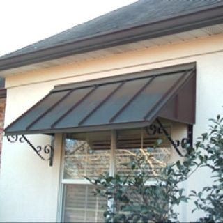 Window awnings, Window and Metal awning on Pinterest | Metal .