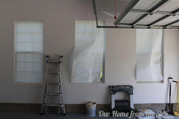 How to Bug Proof Garage Windows | Garage windows, Garage update .