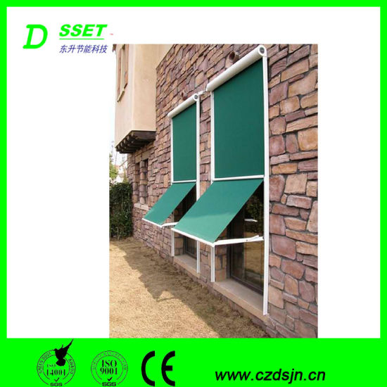 China Detachable Outdoor Awning Column Shape Sunshade Window .