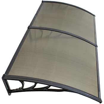 Amazon.com: 40'' x 80'' Window Awning Door Canopy Polycarbonate .