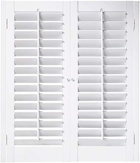 "Amazon.com: Interior Shutter Kit 2 1/4"" Louver, Plantation Style ."