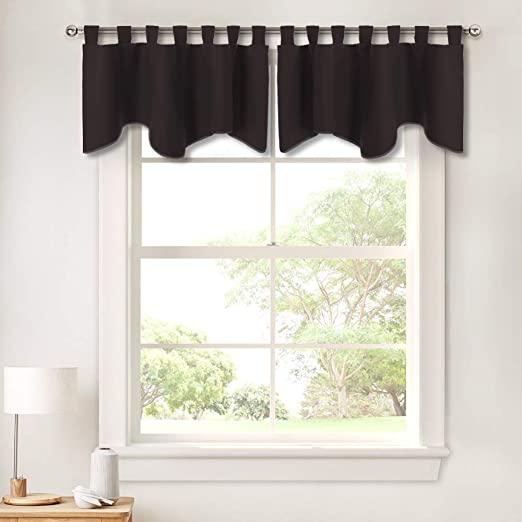 Amazon.com: PONY DANCE Window Valance Curtains - Home Decor .