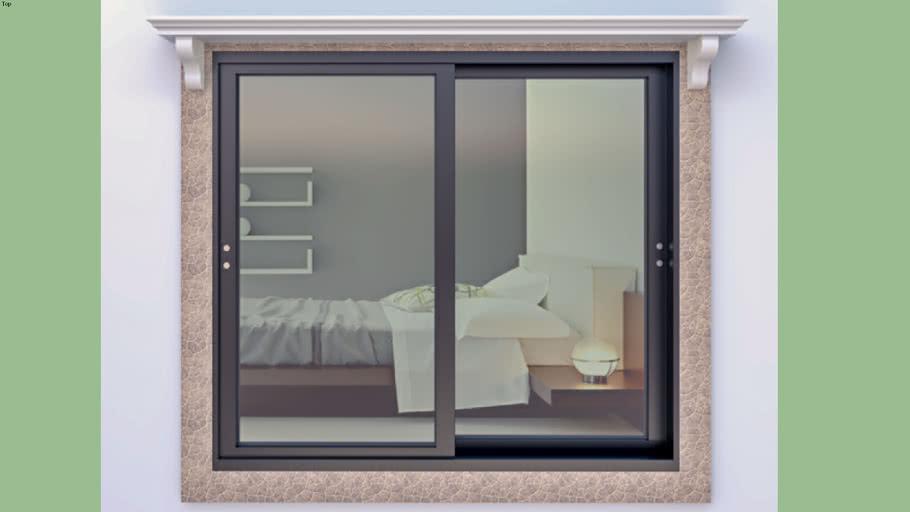 Sliding Window & Sun Shade Design | 3D Warehou