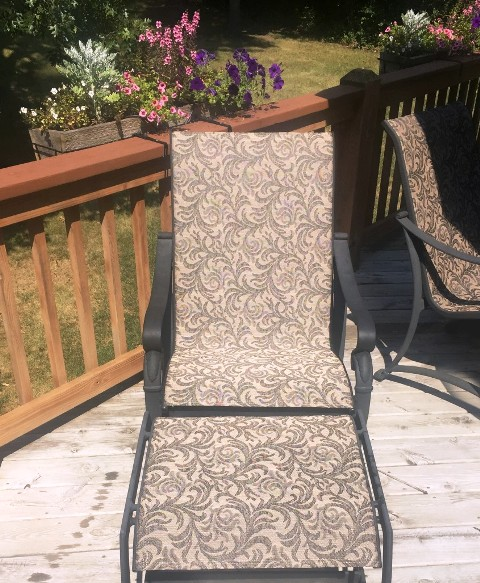 Winston Patio Chair Replacement Sling in Illino