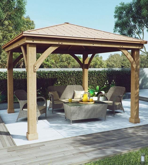 Costco Wholesale | Backyard pavilion, Backyard patio, Patio gaze