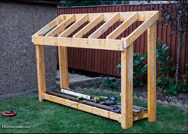 DIY Small Wood Shed | HowToSpecialist - How to Build, Step by Step .
