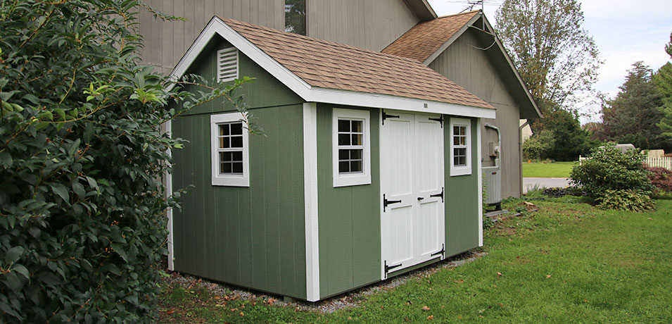 Buying Guide: Vinyl vs. Painted Smartside Wood Shed | Pros & Co