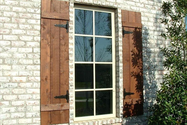 Rustic Wood Shutters - Farmhouse Shutte