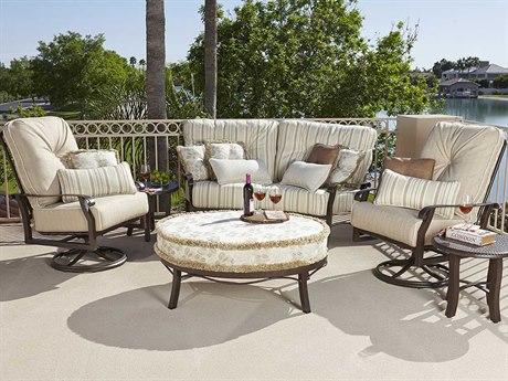 Woodard Cortland Cushion Aluminum Lounge Set | COURTLNGES
