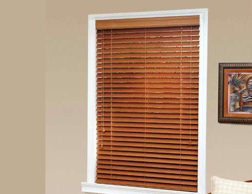 Aspen Faux Wood Blinds | Two Inch | Basswood | Custom Horizontal Bli