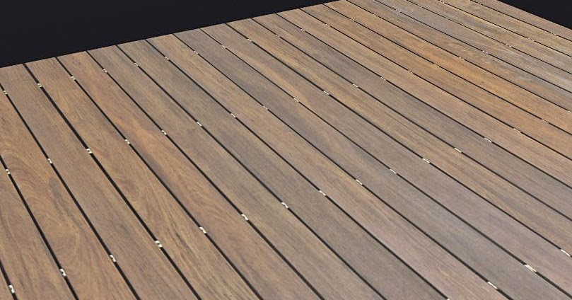 Texturise Free Seamless Textures With Maps: Tileable Wooden Deck .