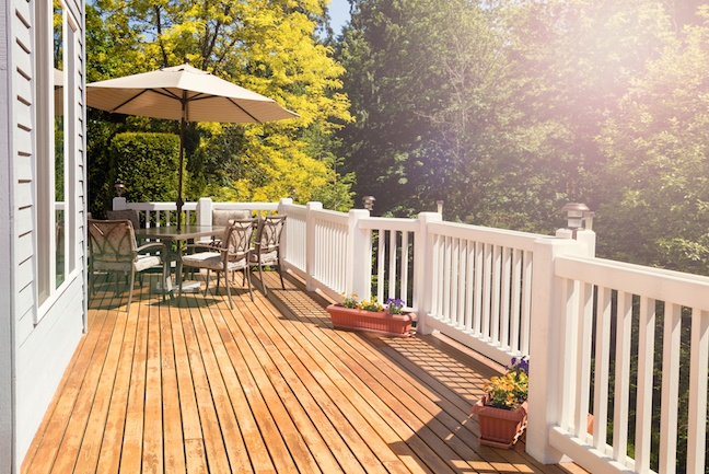 Wood Deck or Cement Patio? | ZING Blog by Quicken Loa