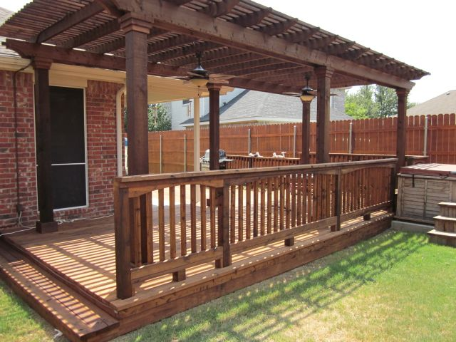 Wood Deck Inspiration Pictures | Texas Best Fence & Pat