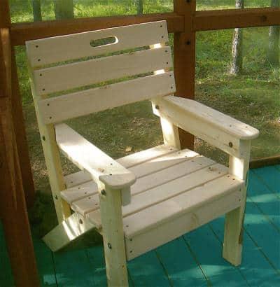 Simple Garden Chair | BuildEa
