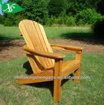 Wooden Reclining Garden Chai