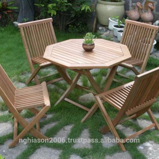 Java Wooden Garden Furniture Set - Buy Garden Furniture Set .