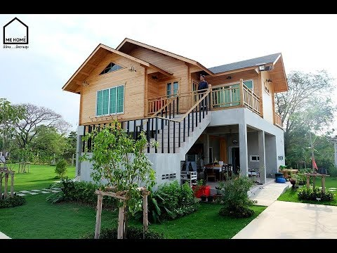 10 Relaxing Wooden House Design For Nature Loving Dwellers - YouTu